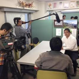 CBC「イッポウ」で取材をして頂きました